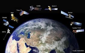 پاورپوینت بررسی عکس برداری های ماهواره ای